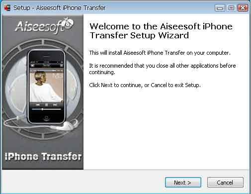 Aiseesoft iPhone Transfer(virus total checked) 01-1