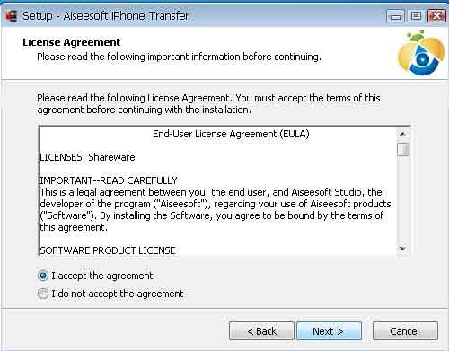 Aiseesoft iPhone Transfer(virus total checked) 02