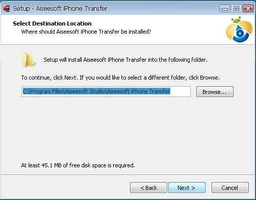 Aiseesoft iPhone Transfer(virus total checked) 03