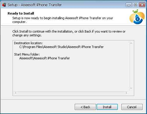 Aiseesoft iPhone Transfer(virus total checked) 05