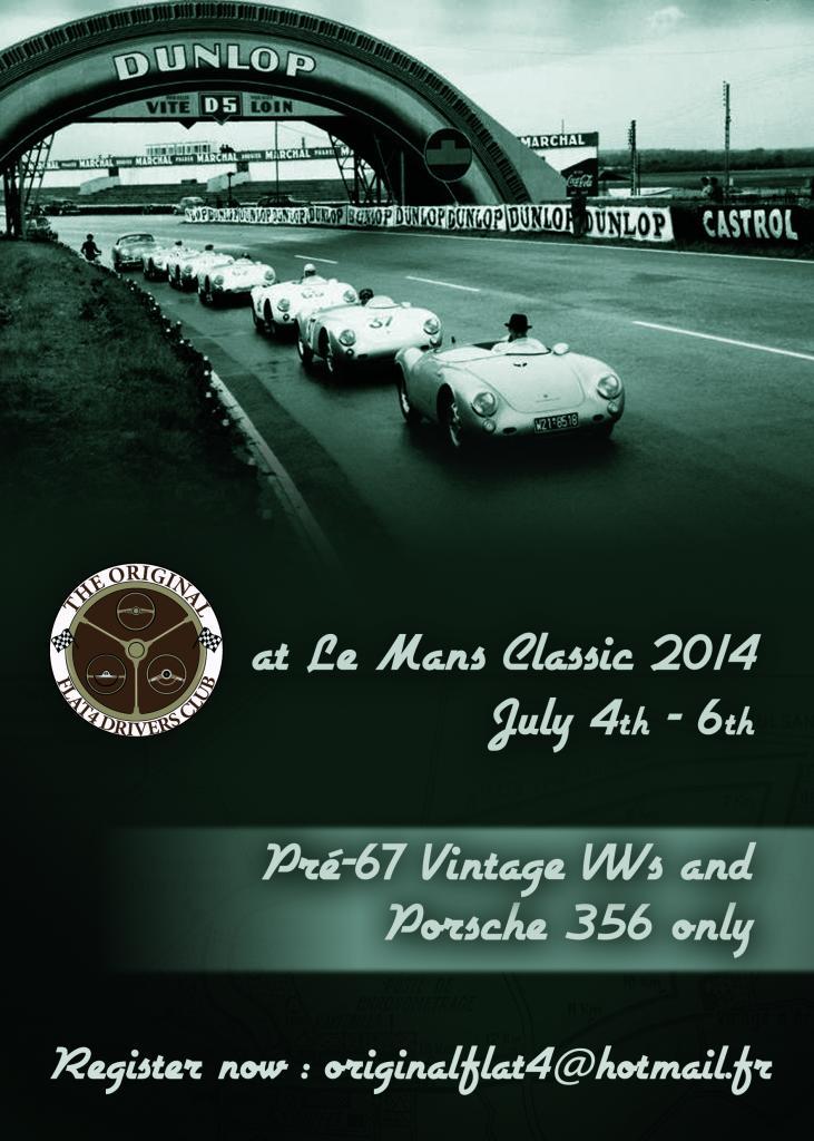 4-5-6 juillet/july 2014 : Le Mans Classic (F) Lemansclassic2014_recto