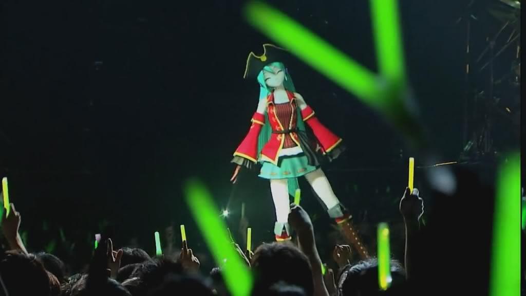 Vocaloid Concierto en vivo HD !!! ÑAM!!! xD MIku39GD5