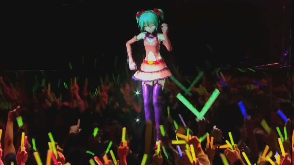 Vocaloid Concierto en vivo HD !!! ÑAM!!! xD MIku39GD7