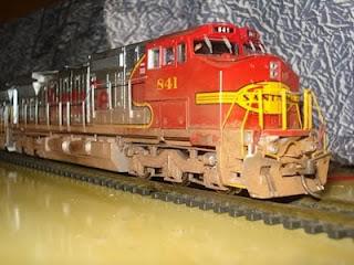 Locomotiva GE Dash 8-40cw - Atlas c/ DCC + Som DSC04476