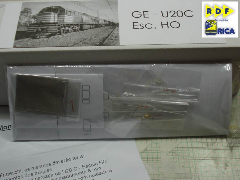 """Locomotiva GE U20c 3162-6 MRS em escala """"ho"""" LocomotivaGEU20c3162-6MRSemescalaho_004-3_zpsec83a1dd"""