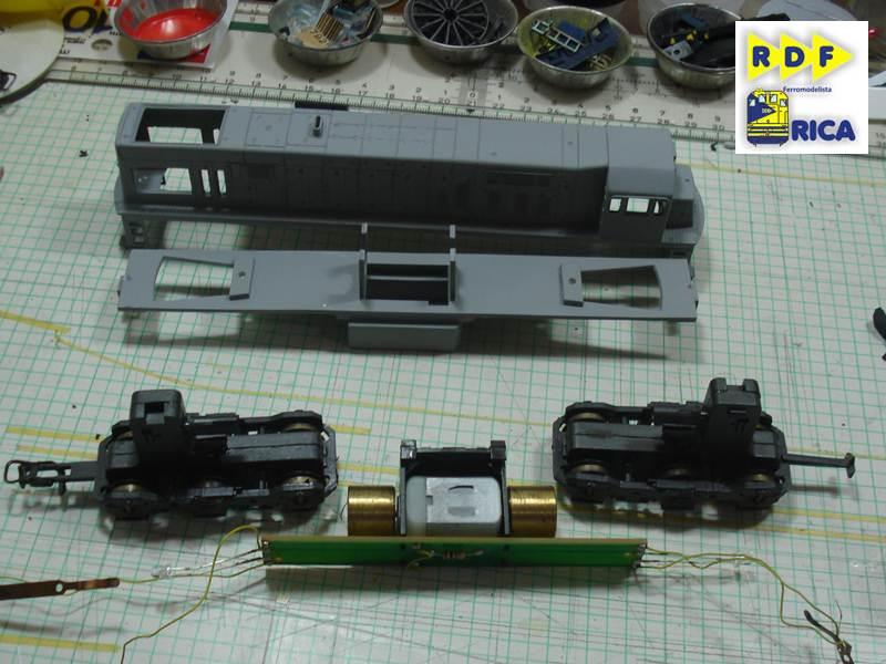 """Locomotiva GE U20c 3162-6 MRS em escala """"ho"""" LocomotivaGEU20c3162-6MRSemescalaho_012_zps9411299a"""