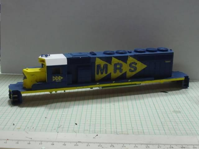 SD40-2 #5244-5 MRS - teto branco_Bachmann w/DCC_Alexandre_jun12 SD40-25244-5MRS-tetobranco_Alexandre_jun12_020
