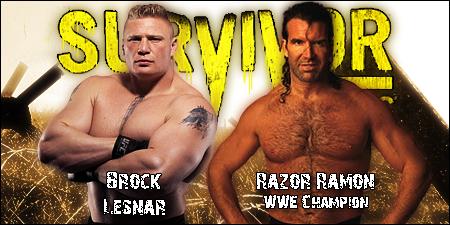 Survivor Series 2015 [22-11-2015] LesnarVsRazor