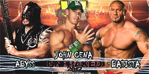S-WWE Unbraked 2012 [1-7-2012] CenaVsAbyssVsBatista