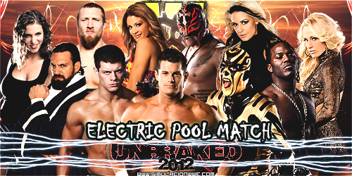 S-WWE Unbraked 2012 [1-7-2012] ElectricPoolMatch