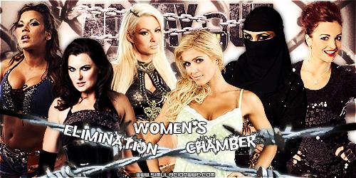 S-WWE No Way Out [19-02-2012] WomensEliminationChamber