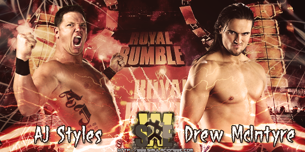 S-WWE Royal Rumble 2013 [27-01-2013]  StylesVsDrew_zpsa99c8f1b