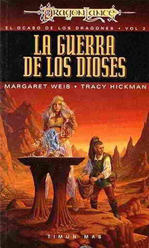 La guerra de los dioses - Margaret Weis y Tracy Hickman Portada01-3