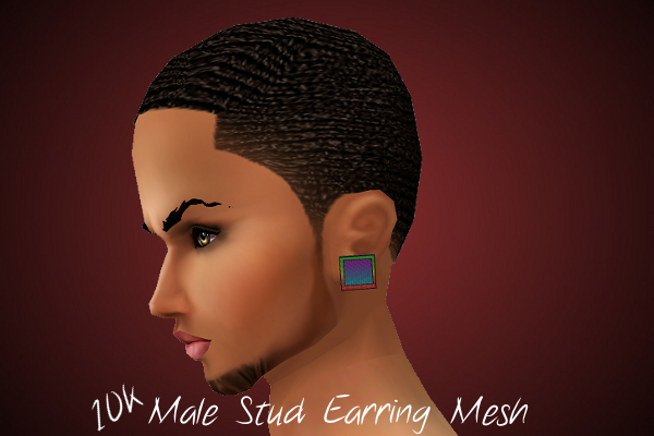 NEW FILES/MESHES~Jazzy's File Shop~ MALESTUDEARRINGMESH