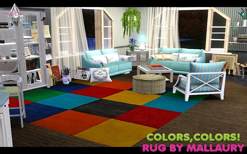 LovelySims - Página 3 Colorscolorsrug