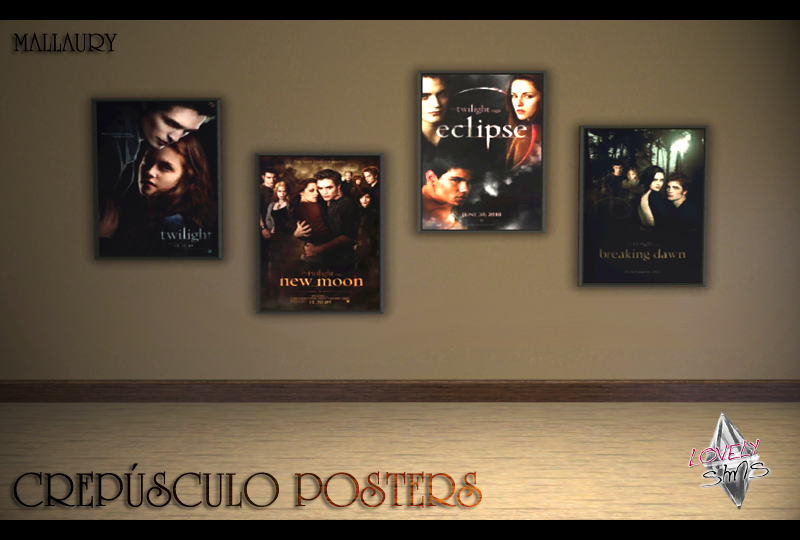 LovelySims - Página 2 Crepusculoposters