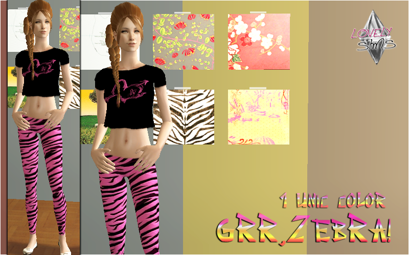 LovelySims - Página 2 Grrzebra