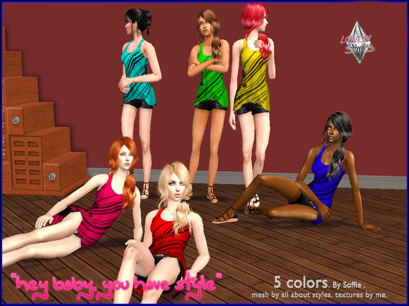 LovelySims - Página 2 Heybabyyouhaveestyle