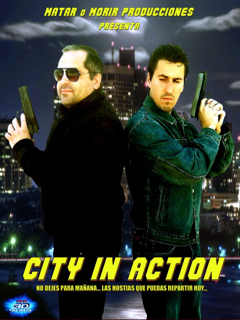 City In Action PosterCityInAction