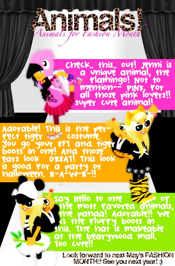 ♥ { GLAMOUR ; Issue 6 } FΔSHIΘN month. Animals