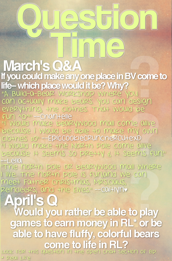 * { BP TIMES ; Issue 5 } * Questiontime-1