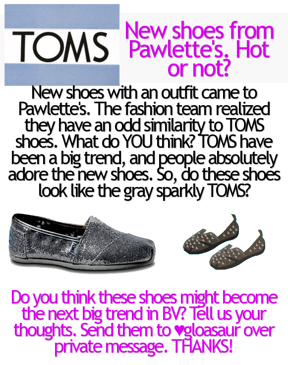 ♥ { GLAMOUR ; Issue 6 } FΔSHIΘN month. Toms