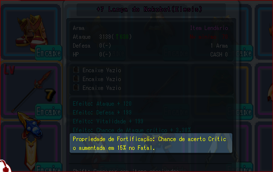 [TUTO] Completo Grand Chase ! [ 2 ° Part ] Propriedadefort