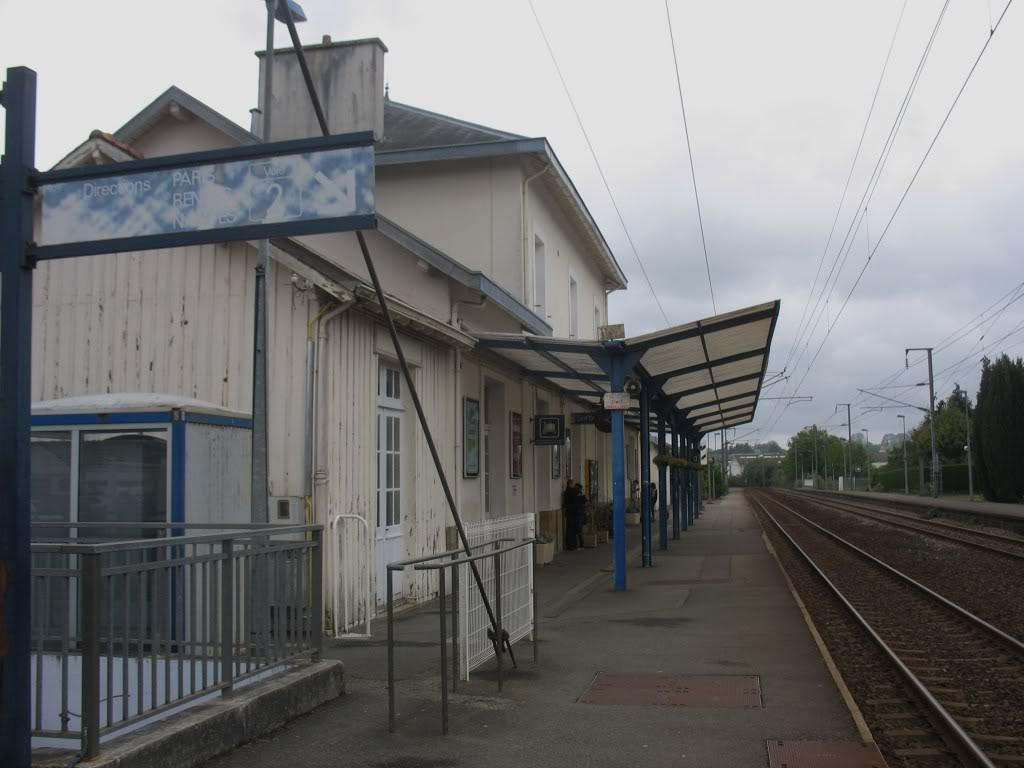 Ligne de Quimperlé-Pont-Aven-Concarneau (1903-1908-1909-1936) 1-Quimperlmai2012versParis-Nantes-Rennes