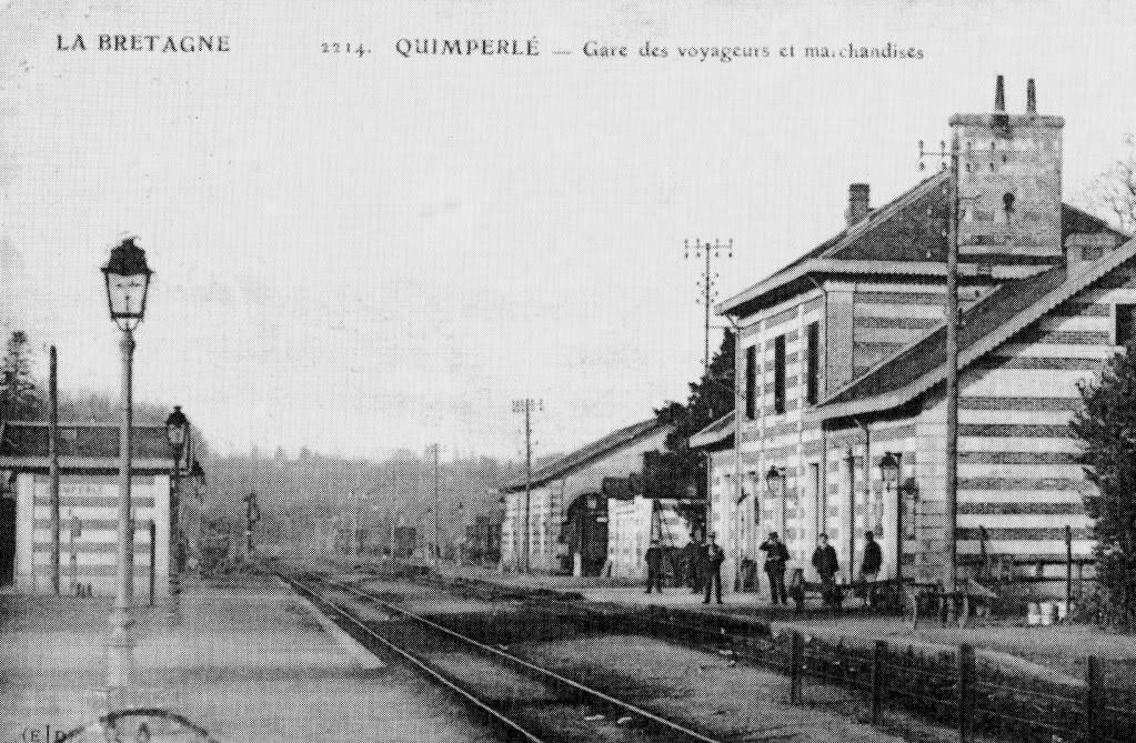 Ligne de Quimperlé-Pont-Aven-Concarneau (1903-1908-1909-1936) 1-quimperl001