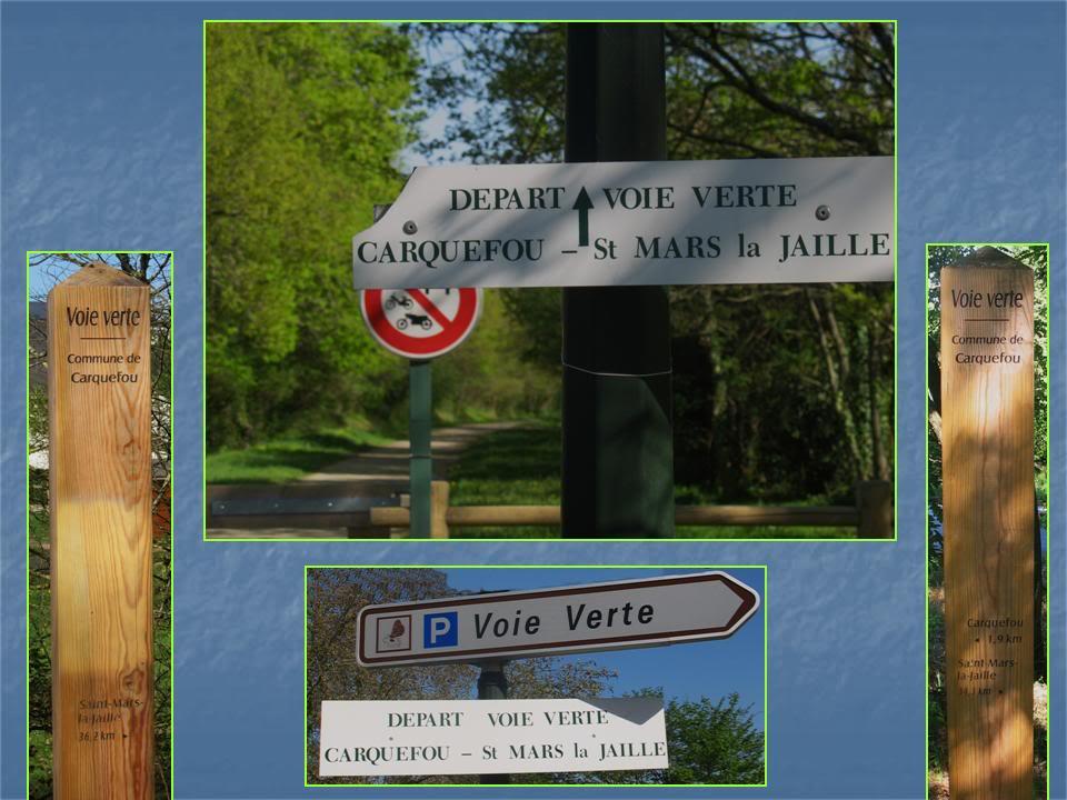 Ligne de Nantes - Segré (1185-1988) Voie Verte de Carquefou à St Mars la Jaille  11-LedpartdelavoieverteCarquefou