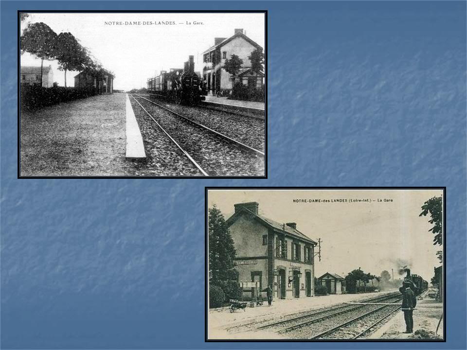 Ligne de La Chapelle sur Erdre - Blain - Beslé (1901-1910-1952) 12-CartesanciennesNdLDmentele