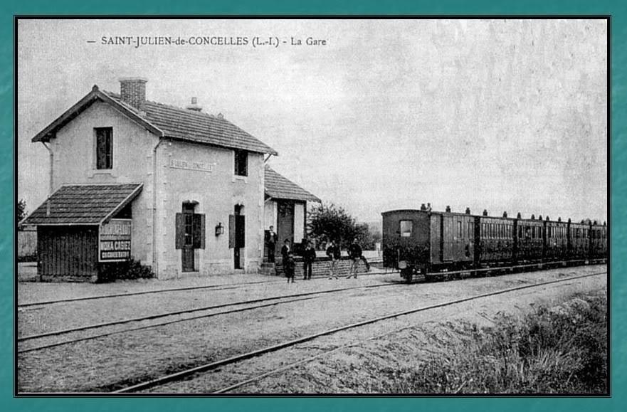 Ligne du Petit Anjou en 44 de Nantes à La Remaudière (1899-1947) 12-StJuliendeConcelles