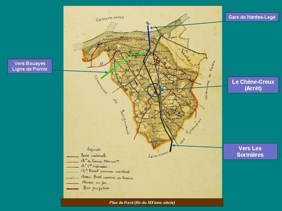 Ligne de Nantes-Legé de gare en gare (1893-1935) 13-CarteanciennedeRez2-1