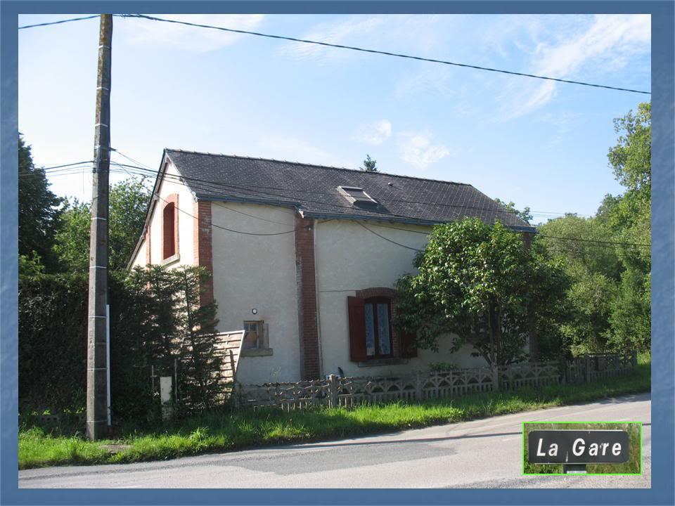 Ligne de La Chapelle sur Erdre - Blain - Beslé (1901-1910-1952) 13-PNLaGareNdL