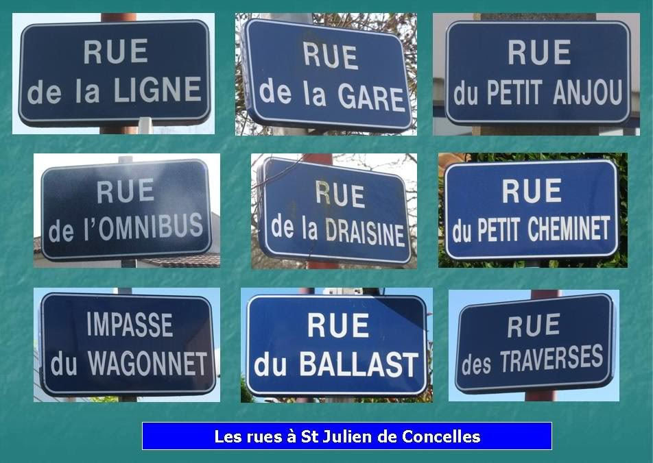 Ligne du Petit Anjou en 44 de Nantes à La Remaudière (1899-1947) 16-LesruesStJuliendeConcelles