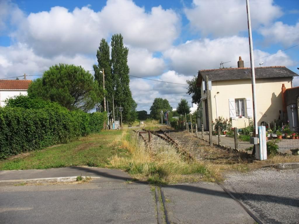 Ligne de St Hilaire de Chaléons à Paimboeuf de 1876 à nos jours 16-PN7Chmr-PN6versPN7