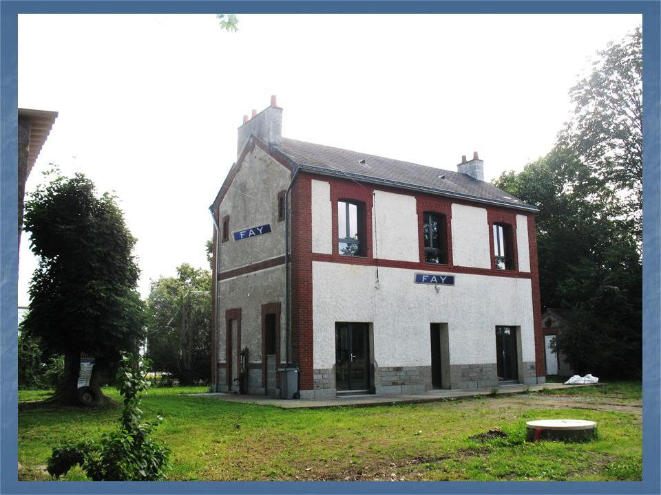 Ligne de La Chapelle sur Erdre - Blain - Beslé (1901-1910-1952) 17-Fayctparking
