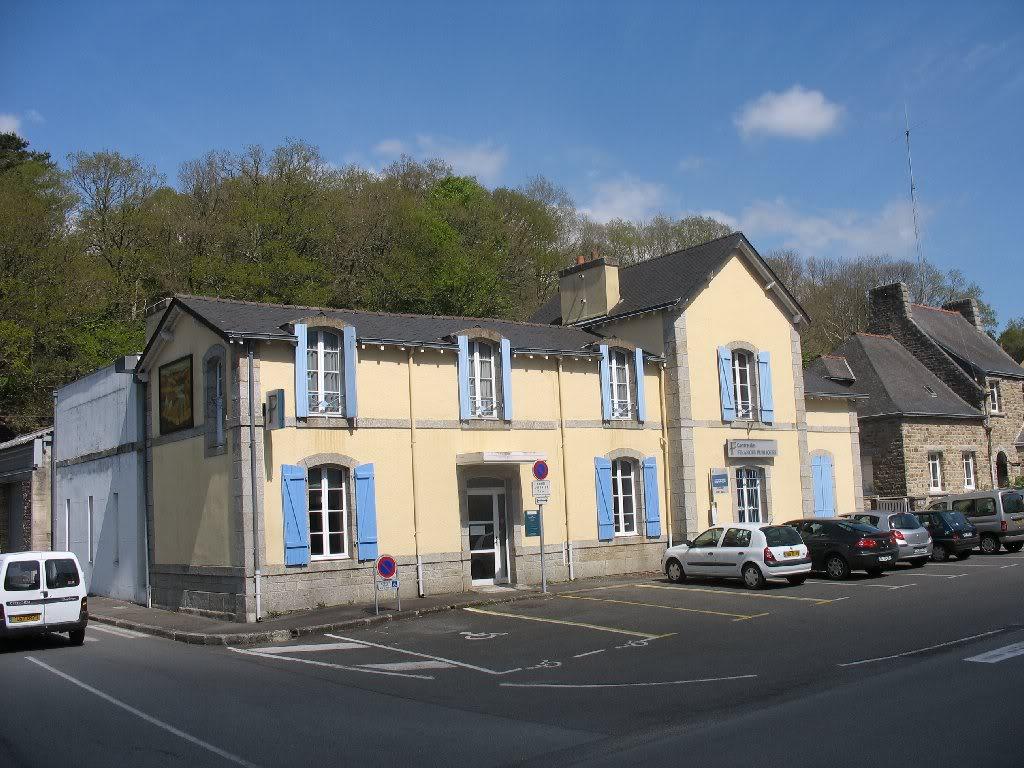 Ligne de Quimperlé-Pont-Aven-Concarneau (1903-1908-1909-1936) 17-PontAven
