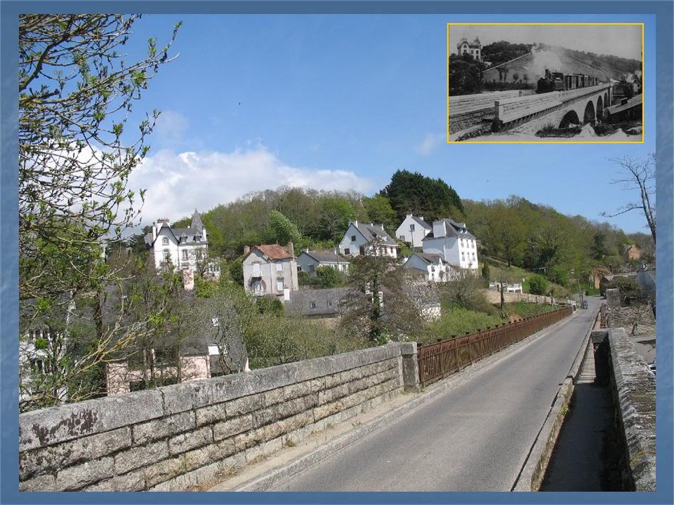 Ligne de Quimperlé-Pont-Aven-Concarneau (1903-1908-1909-1936) 18-Pont-Aven2
