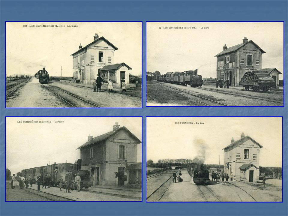 Ligne Les Sorinières (44) à Rocheservière (85) de gare en gare (1903-1938) 2-LesSorinires