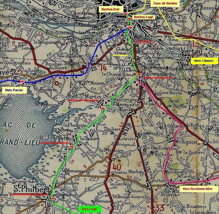 Ligne de Nantes-Legé de gare en gare (1893-1935) 2-NantesStPhilbertdeGdLieu-1