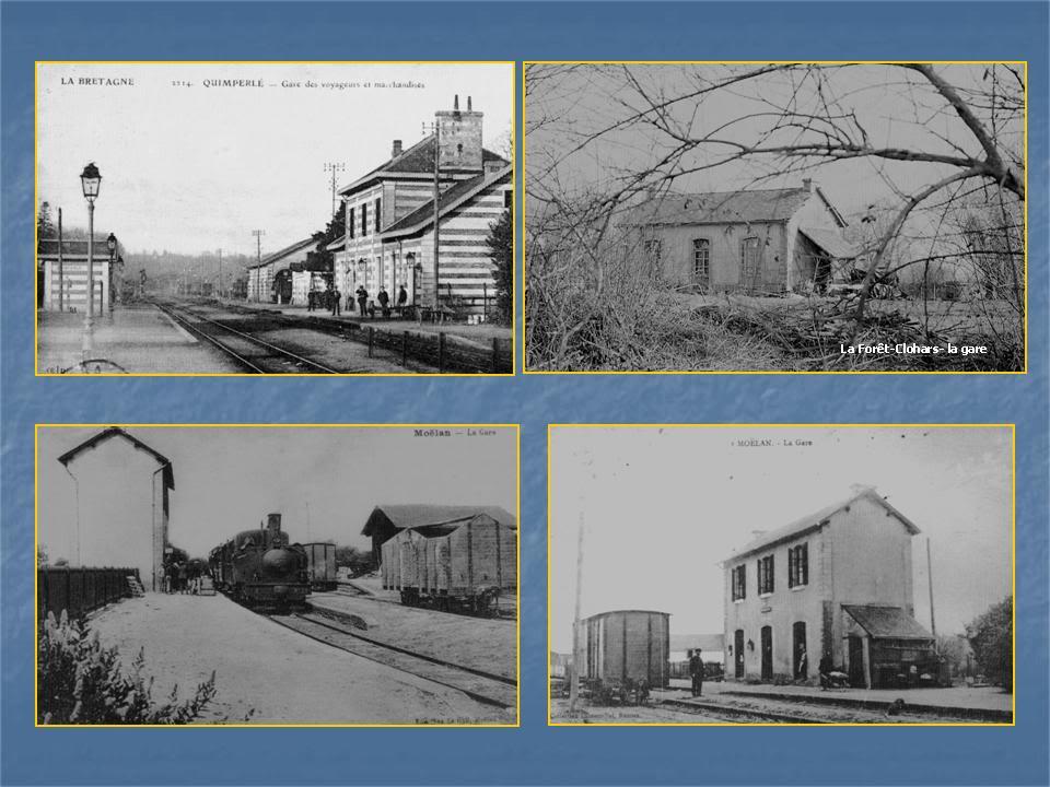 Ligne de Quimperlé-Pont-Aven-Concarneau (1903-1908-1909-1936) 2-Quimperl-LafortClohars-Moelan