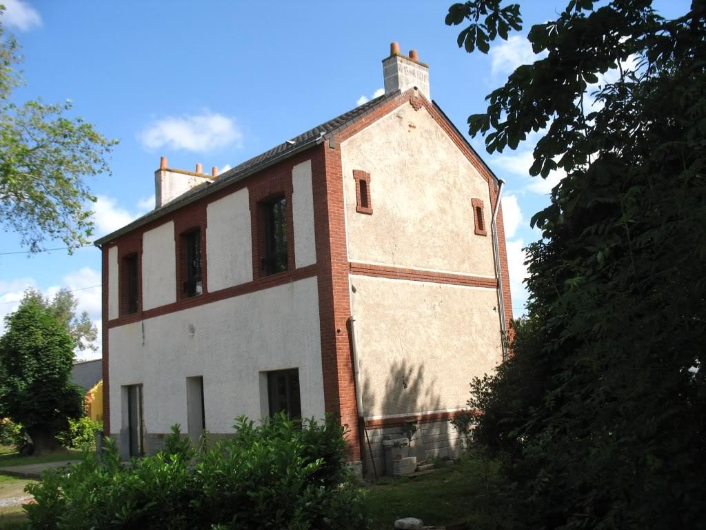 Ligne de La Chapelle sur Erdre - Blain - Beslé (1901-1910-1952) 20-Fayctparking2niches