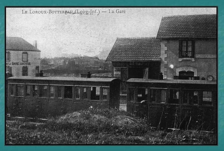 Ligne du Petit Anjou en 44 de Nantes à La Remaudière (1899-1947) 20-LeLoroux-Bottereau