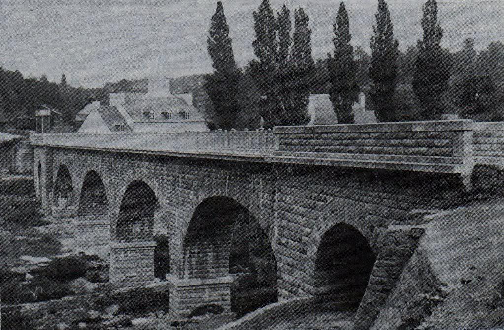 Ligne de Quimperlé-Pont-Aven-Concarneau (1903-1908-1909-1936) 20-Pont-AvenlalignedeConcarneau049