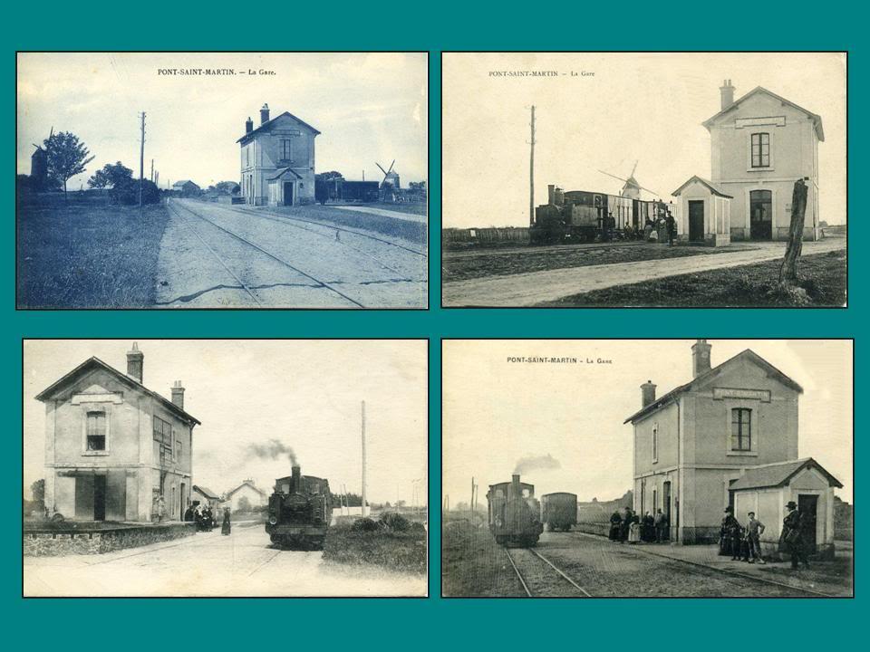 Ligne de Nantes-Legé de gare en gare (1893-1935) 21-PontSaintMartin-1