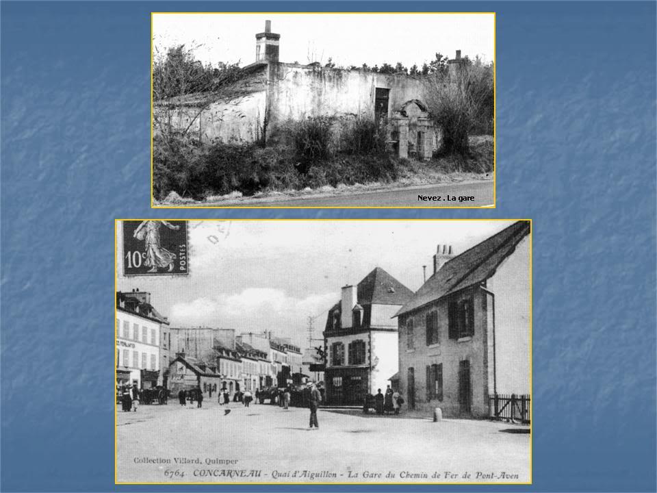 Ligne de Quimperlé-Pont-Aven-Concarneau (1903-1908-1909-1936) 22-Nevez-Concarneau