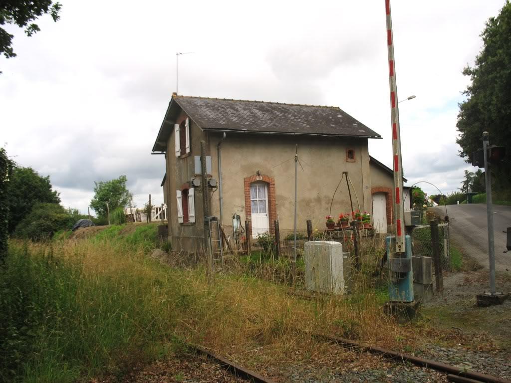 Ligne de St Hilaire de Chaléons à Paimboeuf de 1876 à nos jours 23-PN19LaSicaudais