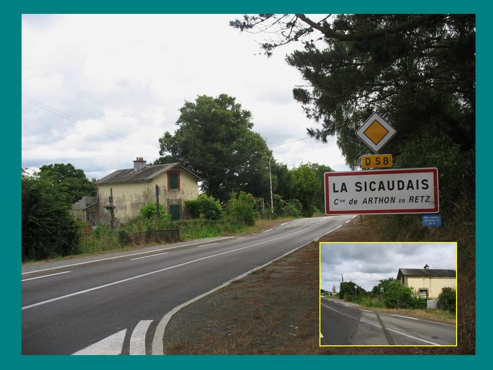 Ligne de St Hilaire de Chaléons à Paimboeuf de 1876 à nos jours 26-PN21LaSicaudais-RD58