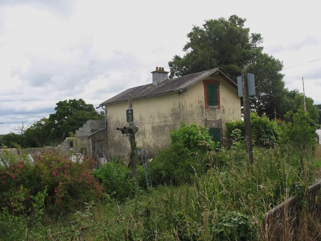 Ligne de St Hilaire de Chaléons à Paimboeuf de 1876 à nos jours 27-PN21LaSicaudais